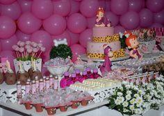 pebbles flintstone birthday party