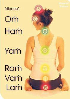 Chakra chants #chakra (om ham yam ram vam lam) www.destressyoga.org