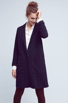 Shop the Pinstripe Knit Oversized Blazer and more Anthropologie at Anthropologie today. Read customer reviews, discover product details and more.