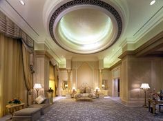 Emirates Palace suite Abu Dhabi.....a girl is ALLOWED to dream