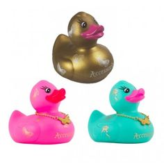 Accessorize - Bath ducks - Set of 3