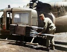 Vietnam...loading 2.75s into the sod pod...(love American style)