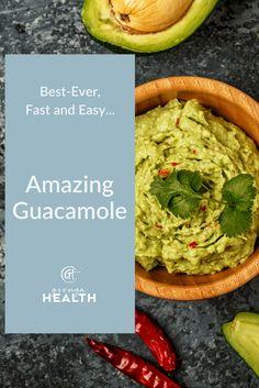 guacamole, guacamole recipes, healthy guacamole recipe, healthy snack recipes, healthy dips, easy guacamole recipes, quick guacamole recipes via @grengahealth