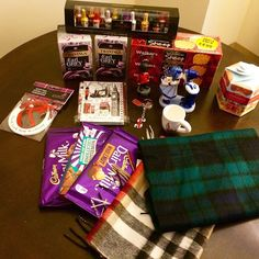 @fiitness_l1fe got me not one or two things from her 10 day long trip but all of these! :heart::kissing_heart: :gift: from #Netherland, #Scotland and #UK. I love you, baby! :kiss: Everytime when I think I have done great, you surprise me by doing 10x bett