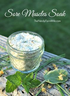 Jan selected this recipe for a sore muscle soak from the first unit in the beginning herbal class at the Herbal Academy of New England. The bath soak relieves muscle soreness, aches and pains. The recipe uses a wonderful combination of herbs, berries, essential oils and some other ingredients. You…