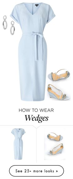 """Untitled #4261"" by injie-anis on Polyvore featuring Ippolita, Miss Selfridge and Badgley Mischka"