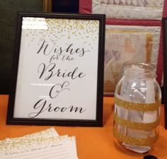 Bridal Shower Idea...guest complete upon arrival to the shower.