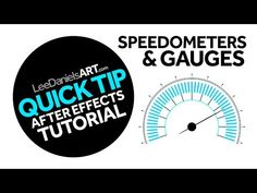 QUICK TIP | After Effects | Speedometers & Gauges - YouTube