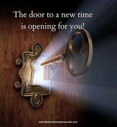 New door is opening