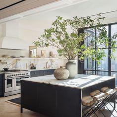 Deco Design, Küchen Design, Layout Design, Kitchen Interior, Kitchen Decor, Eclectic Kitchen, Condo Kitchen, Room Kitchen, Kitchen Ideas