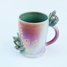 I already own so many mugs, but I have a mighty need for this mug from Silver Lining Ceramics.