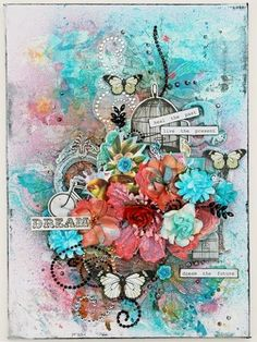Trudie Harrison - this is beautiful and I love the sentiment. I think I need to make one for myself to remind me how I need to b living!!!