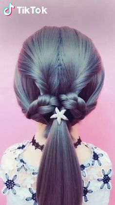 New Hair Styles Simple Easy Hairstyles 55 Ideas Unique Hairstyles, Girl Hairstyles, Fashion Hairstyles, Hairstyles Videos, Hairstyles For Kids, Easy Braided Hairstyles, American Hairstyles, Hairstyles 2016, Black Hairstyles