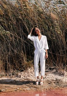 Perfecting the art of shirting was the mission behind Paloma Canut and Ana Marroquín's label, Sunad. The Spanish designers' slow fashion approach means a commitment to ethically sourcing natural cottons and luxurious silks, as well as paying fair wages to local manufactures while still keeping