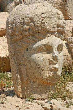 The Goddess of Fortune and Prosperity, Mount Nemrut, Turkey.