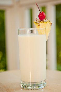 Pina Colada Coconut Milk Smoothie