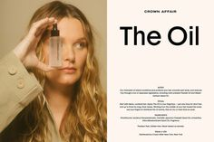 Crown Affair & Placeholder Urge You To 'Take Your Time' With New Hair Care Line Visual Identity, Brand Identity, Branding, How To Make Hair, How To Apply, O Ritual, Take Your Time, Stay True, Beauty Industry