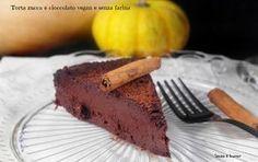Torta zucca e cioccolato vegan senza glutine http://www.senzaebuono.it/torta-zucca-e-cioccolato-vegan-senza-glutine/