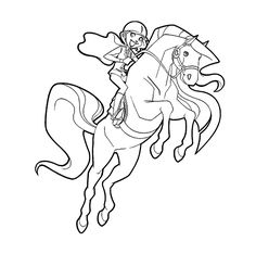 Horseland Coloring Pages ColoringMates Coloring Pages Pinterest