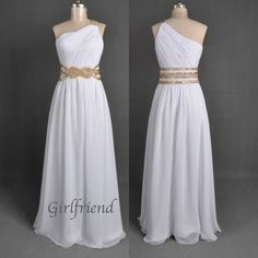 Prom dress prom dress - Elegant one-shoulder princess style homecoming dress / prom dress from Girlfriend #promdress #homecomingdress #coniefox #2016prom