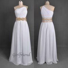 Prom dress prom dress - Elegant one-shoulder princess style homecoming dress / prom dress from Girlfriend #promdress #homecomingdress #coniefox #2016prom