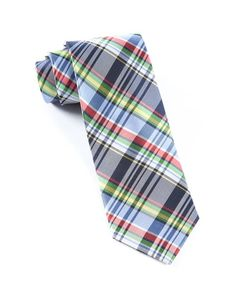 Danbury Plaid Ties - Navy | Ties, Bow Ties, and Pocket Squares | The Tie Bar