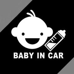 2013  baby in car /baby on board  stickers for car tail,car door.the whole body of car free shipping $17.80