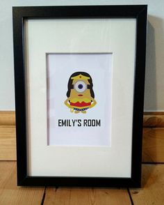 Gift idea customised wall art for a child or by MoseleyDesigns