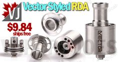 NEW & COOL! – Vector Styled RDA – $9.84 +free shipping