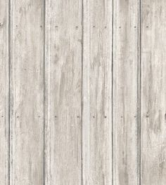 Distressed White Wood Wallpaper Rustic Appeal
