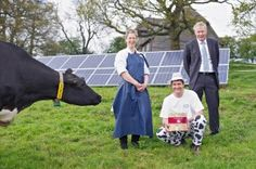 A traditional Kentish cheesemaker is believed to have become the UK's sole carbon neutral producer of hard cheese after investing in two renewable energy systems.
