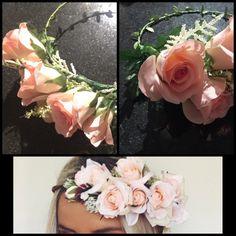 Custom Flower Crown von ThreeSistersBoutq auf Etsy