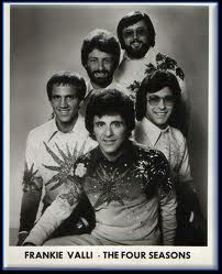 Frankie Valli and The Four Seasons in the '70's.