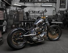 Indian Larry Shovelhead bobber