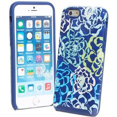 Vera Bradley Hybrid Hardshell Phone Case for iPhone 6 in Katalina... ($38) ❤ liked on Polyvore