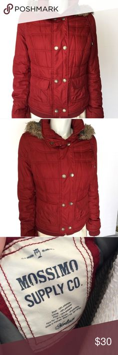 Mossimo Red Puffer Jacket Great for winter! Size Medium but runs tad small when layering. EUC. Mossimo Supply Co Jackets & Coats Puffers