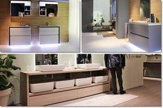 mobile da bagno a terra - Salone del bagno Milano | 10 cose che ricorderò del Salone del bagno 2014 (+1) - #Milano #DesignWeek #SaloneBagno