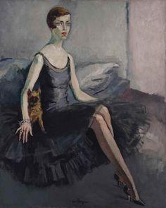 Kees van Dongen (1877-1968) | Portrait de Mrs Jean McKelvie Sclater-Booth | Christie's