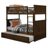 Found it at Wayfair - Nantucket Twin Bunk Bed with Trundle