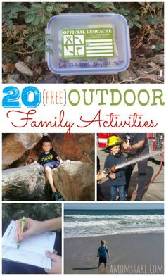 20 Free Outdoor Fami