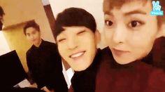 Xiuchen being cute husbands xD
