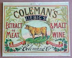 Colemans - great colourful poster