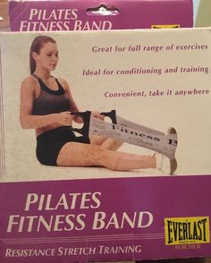 BRAND-NEW Everlast Pilates Fitness Band For Her; Color Gray, Made in Tiawan
