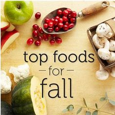 Power Foods to Eat This Fall
