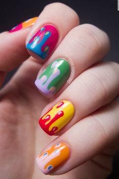 Nail Art Collections -5 Free Hand Nail Arts