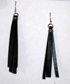 Upcycled Recycled / Bicycle Inner Tube / Black / by GroovyGarbage, $24.00