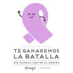 Hoy es el #DiaMundialcontraelCancer, toda nuestra fuerza y apoyo a todos los que sufren esta enfermedad y a sus familiares que luchan junto a ellos día a día.