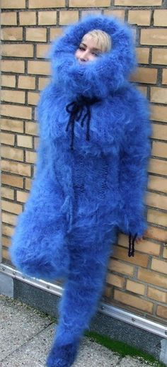 Angora, Mohair Sweater, Ostrich Feathers, Catsuit, Overalls, Fur Coat, Pajamas, Pullover, Wool