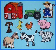 Old MacDonald Had a Farm Felt Board Set - Flannel Board Stories with animals Flannel Board Stories, Felt Board Stories, Felt Stories, Flannel Boards, Farm Nursery, Nursery Rhymes, Farm Crafts, Exploration, For You Song