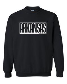 Arkansas Crewneck Sweatshirt